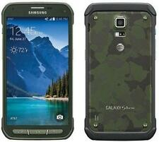 Samsung Galaxy S5 Active (SM-G870A) Green -16GB (AT&T) Used 4G LTE Smartphone
