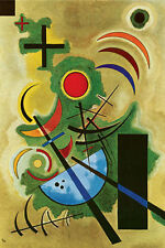ART GALLERY COLLECTION KANDINSKY standhaftes grunn 1925 Puzzle 2000 PEZZI