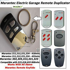 Marantec Compatible remote duplicator - Marantec Digital 302, 304, 313, 321, 323
