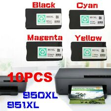 10pcs 950XL 951XL Ink Cartridge Set For HP Office Jet Pro 8100 8600 8610 8615 MC