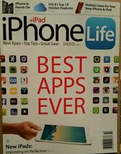 IPhone Life Best Apps Top Tips Great Gear +iPad  Jan/Feb 2015 FREE SHIPPING!