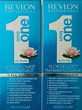REVLON PROFESSIONAL UNIQ ONE LOTUS FLOWER ALL IN 1 HAIR TREATMENT (2PC 5.1  )
