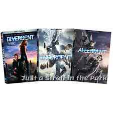 The Divergent Series Original + Insurgent + Allegiant Complete Box / DVD Set(s)