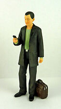 Dollhouse Miniature Resin Doll Man w/ Phone Andrew, HW3037