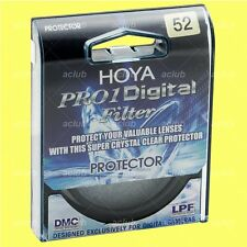 Genuine Hoya 52mm Pro1 D Pro 1 Digital Lens Protector Clear Filter Pro1D Pro 1D
