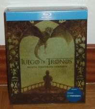 JUEGO DE TRONOS-GAME OF THRONES-5º TEMPORADA COMPLETA-4 BLU-RAY-NUEVO-SEALED-NEW