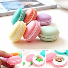 Cute Mini Macarons Organizer Storage Box Earphone SD Card Case Carrying Pouch
