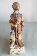 1969 LIONSTONE DECANTER OLD WEST SERIES MOUNTAIN MAN FULL SIZE GREAT BAR PIECE!