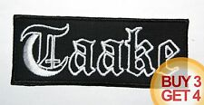TAAKE PATCH,BUY 3 GET 4,CARPATHIAN FOREST,GORGOROTH,IMMORTAL,TSJUDER,ENSLAVED