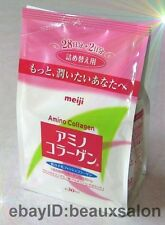 Meiji Amino Collagen Powder, White refill, 214g (30days!), 2017-03, Meiji Japan