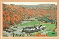 Delaware Academy and Central School, Delhi, New York, Aerial View, NY - Postcard