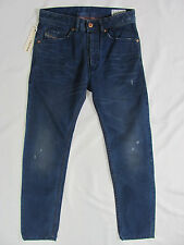 Men's Diesel Braddom Jeans-Slim Carrot -Wash 0811K Blue -Size 26 New $248
