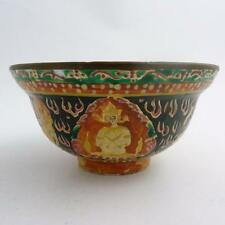 19th CENTURY CHINESE BENCHARONG PORCELAIN BOWL FOR THE THAI MARKET