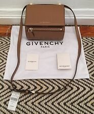 NIB Givenchy Pandora Box Mini-Crossbody in Dark Beige - $1,790