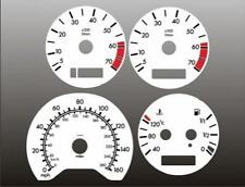 1999-2000 Mercedes C230 Dash Cluster White Face Gauges Kompressor W202