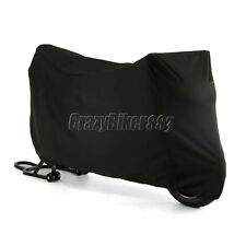 Large Outdoor UV Protector Motorbike Bike Rain Dust Motorcycle Cover Waterproof