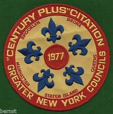BOY SCOUT NEW YORK COUNCIL CAMPS JACKET PATCH - FREE SHIPPING        XX