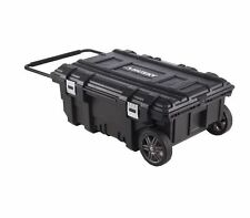 NEW Husky 35 In Portable Rolling Garage Tool Box Organizer Storage Chest Toolbox