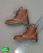1:6 Scale DID WWII US Infantry Russell A80061 - Brown Boots
