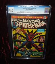 "AMAZING SPIDER-MAN  #135: CGC 4.0 ""Return of The Punisher""!"