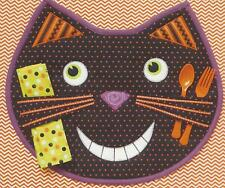 Happy Cat applique placemat quilt pattern by Country Appliques