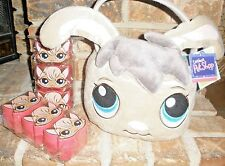 Littlest Pet Shop Exclusive BUNNY Easter Basket w 6 PERSIAN CAT Treat Containers