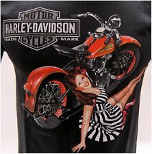 Harley-Davidson New  Men's Size L-Large T-Shirt With Back Dealer Imprint