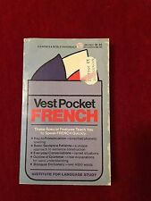 VEST POCKET FRENCH ,1958 BARNES & NOBLE PAPERBACK