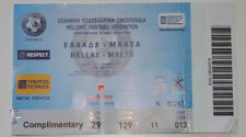 old TICKET EURO 2012 q * Greece - Malta in Pira4eus