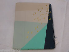 Fossil SL4558878 Notes Easel Light Blue Multi Tablet CasHie iPad protector NWT^^