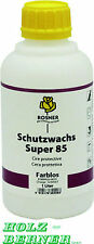 Rosner Schutzwachs Super 85 farblos 1 Liter -  für Wachsbeize - 1x Versandkosten