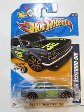 HOT WHEELS 2012 FASTER THAN EVER  DATSUN BLUEBIRD 510