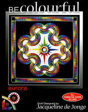 AURORA QUILTING PATTERN, Foundation Paper Piecing By Becolourful NEW
