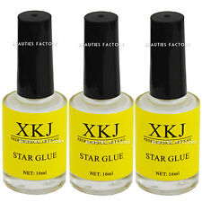 3X 16ml Nail Art Decoration Glue For Foil Sticker Transfer Tips Adhesive 1001Ax3