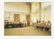 Kentwell Hall Long Melford Tudor Life Gentry At Table Great Hall Postcard 867a
