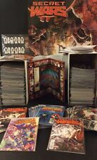 SECRET WARS #1 MARVEL COMPLETE 388 Comic Books VARIANTS Alex Ross Signed +PROMO