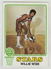 1973 TOPPS WILLIE WISE UTAH STARS CARD #245 NEAR MINT  AND WELL CENTERED