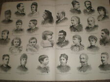 House of Orleans France the expelled princes 1886 large print ref BW