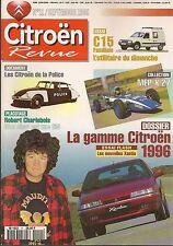 CITROEN REVUE 11 CITROEN DE LA POLICE MEP X27 XANTIA 1996 C15 1.8D FAMILIALE