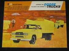 1960 Dodge Medium Duty Trucks Catalog Sales Brochure