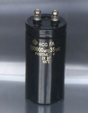 1PCS HITACHI HCG FA 35V 100000UF Electrolytic Capacitor 50X110mm 105℃ #E236 YX