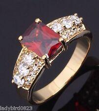 Ring Gr 62  Fingerring Gold gefüllt Herrenring Goldring Damenring Schmuck Steine