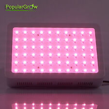 PopularGrow 300W LED Grow Light Full Spectrum Hydro Veg Flower Indoor Plant Lamp