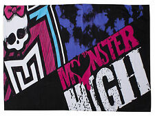 Monster high bestioles 100% coton serviette de plage 70cm x 140cm