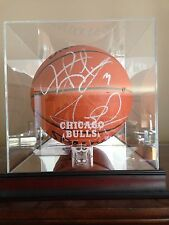 Scottie Pippen & Dennis Rodman Autographed Official Basketball PSA/DNA Rare Item