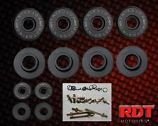 Black Aluminum Engine Valve Cover Hardware Bolt Kit Honda Civic Integra B-SERIES