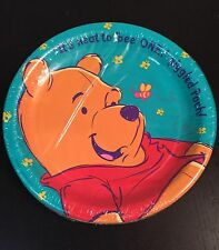 1990's Disney Winnie The Pooh Party Plates Large
