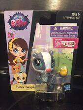 Brand New Littlest Pet Shop 2015 Bobblehead Honey Badgely! #3879