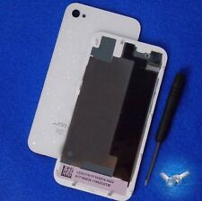 Genuine Glass Replacement for iPhone 4S Battery Cover White Back Door A1387 Tool