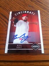 2011 Panini Limited Baseball Bill Bray Autograph